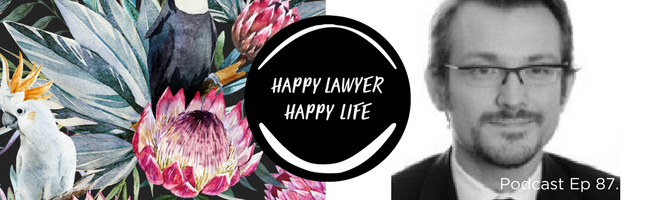 Episode 87 – Barrister Stephen Mackie on life in the law (with a side of theatre!)