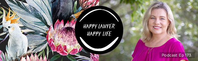 Episode 173 –  Personal Injury Lawyer Leeha James on falling into law and never looking back